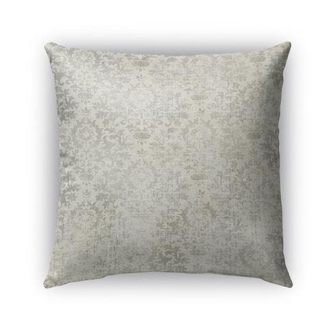 Kavka Designs grey capri outdoor pillow with insert