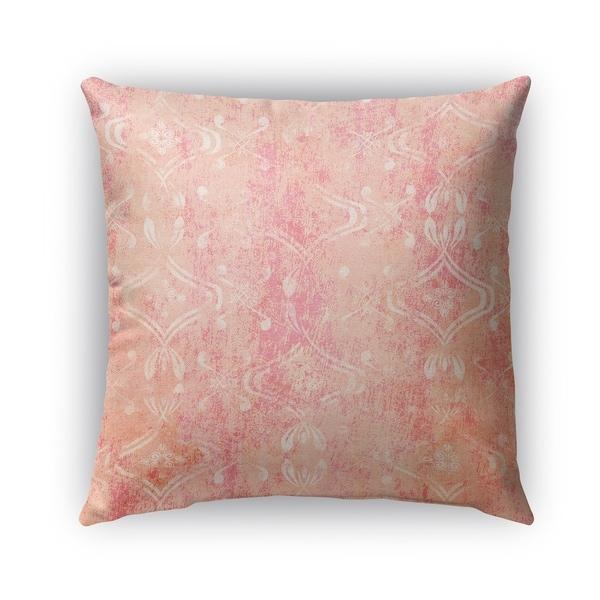 Kavka Designs pink; orange el dorado orange outdoor pillow with insert