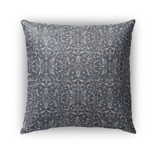 Kavka Designs grey cadiz outdoor pillow with insert