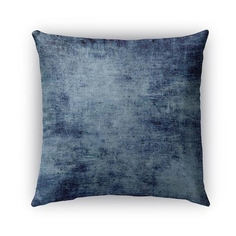 Kavka Designs blue caserta outdoor pillow with insert