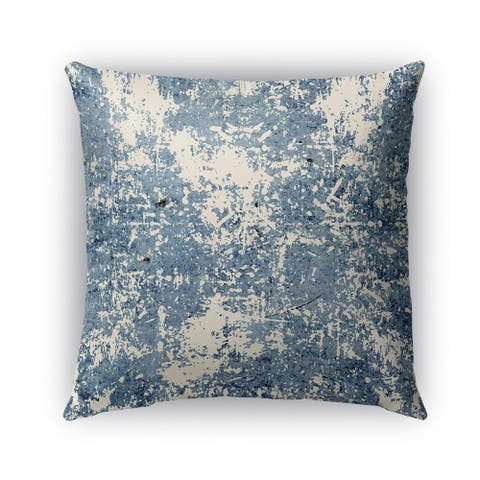 Kavka Designs blue parma outdoor pillow with insert
