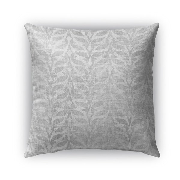 Kavka Designs grey pavia outdoor pillow with insert