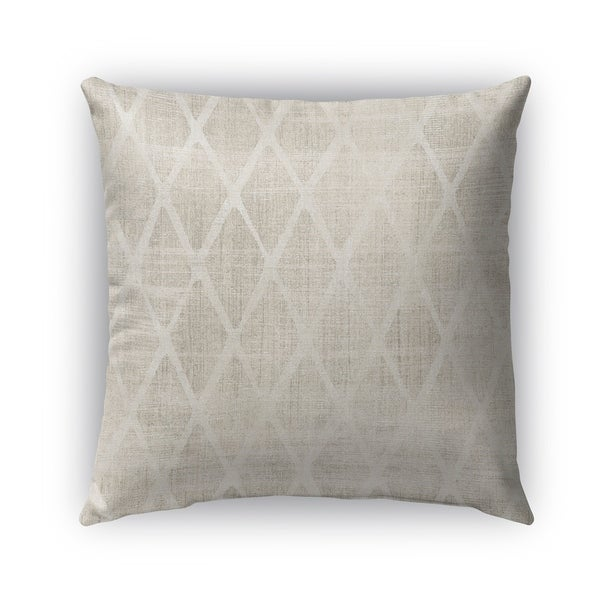 Kavka Designs ivory crotone outdoor pillow with insert