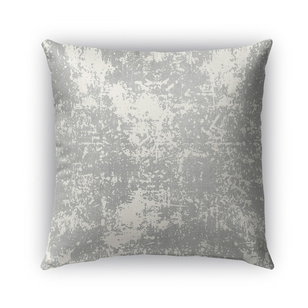 Kavka Designs grey milano outdoor pillow with insert