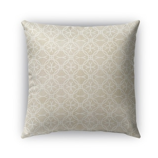 Kavka Designs beige avellno outdoor pillow with insert