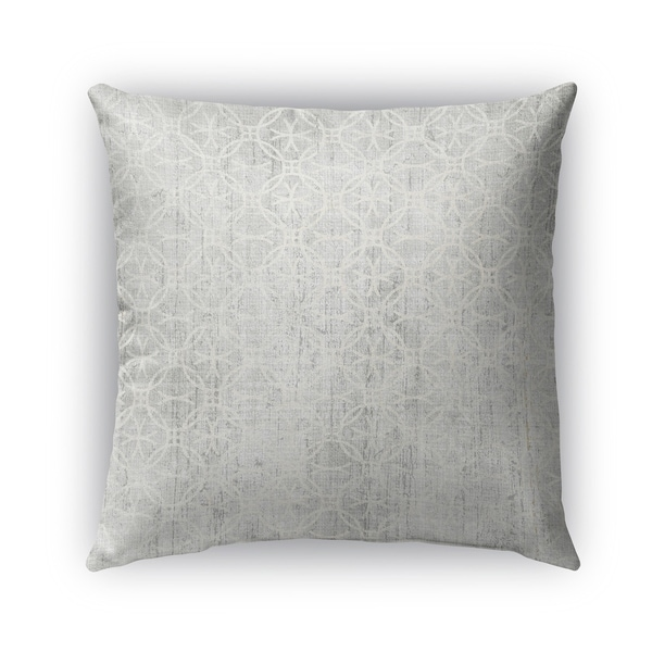 Kavka Designs grey legnano outdoor pillow with insert