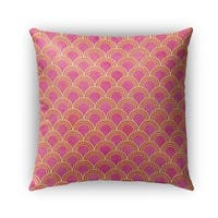Kavka Designs pink rimini outdoor pillow with insert