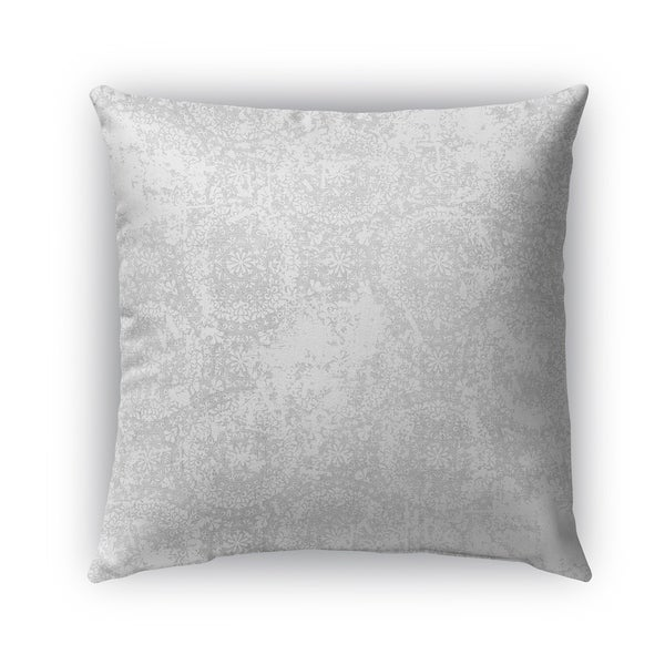 Kavka Designs grey salerno outdoor pillow with insert