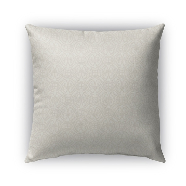 Kavka Designs ivory scafati outdoor pillow with insert