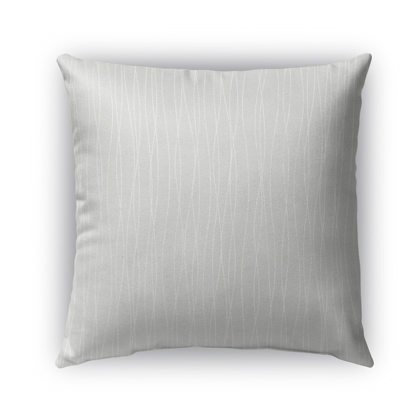Kavka Designs grey trento outdoor pillow with insert