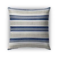 Kavka Designs blue; grey chatham outdoor pillow with insert