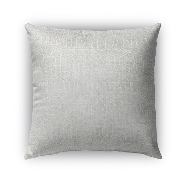 Kavka Designs grey volos outdoor pillow with insert