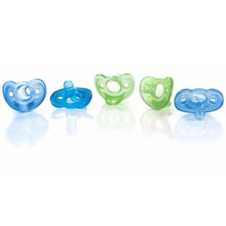 The First Years GumDrop Pacifier - 5 Pack - Newborn - Boy