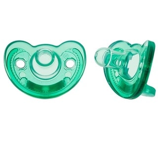 The First Years GumDrop Hospital Pacifier - 2 Pack - Newborn - Neutral