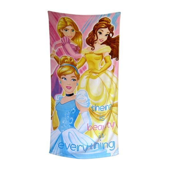 "Disney Princess ""Sunbeam"" 28x58-inch Beach Towel"