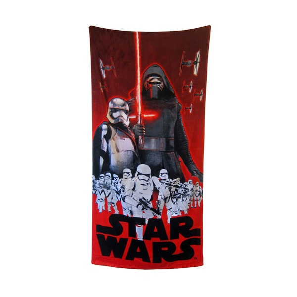 """Star Wars """"Foes of the Force"""" 28x58-inch Beach Towel"""