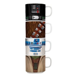 Star Wars 4pc Stacking Ceramic Mug Set