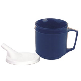 Weighted 8-ounce Cup with Tube Lid