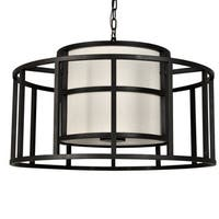 Crystorama Brian Patrick Flynn Hulton Collection 5-light Matte Black Chandelier