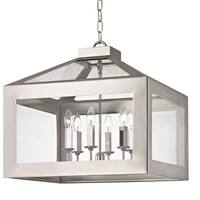 Crystorama Brian Patrick Flynn Hurley Collection 6-light Polished Nickel Chandelier