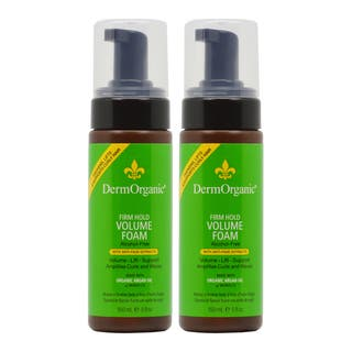 DermOrganic Firm Hold 5-ounce Volume Foam with Argan Oil (Pack of 2)|https://ak1.ostkcdn.com/images/products/16962881/P23249277.jpg?impolicy=medium