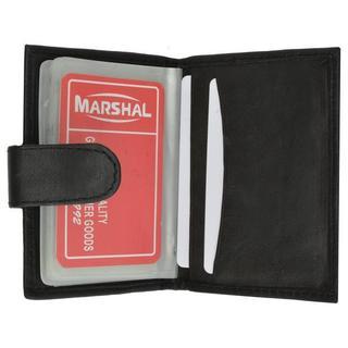 Marshal RFID Premium Leather 32 Count Credit Card Holder