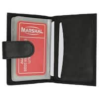 Marshal RFID Premium Leather 32 Count Credit Card Holder