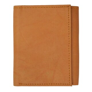 Marshal RFID Genuine Leather Trifold ID Card Holder Wallet