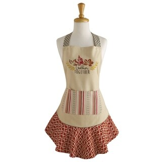 Gather Together Ruffle Apron