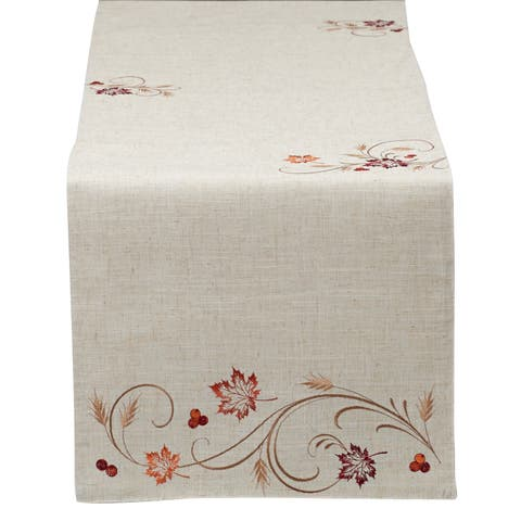 Autumn Wheat Table Runner - 14x72""