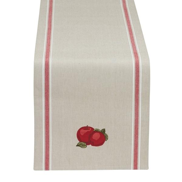 Apple Embellished Table Runner