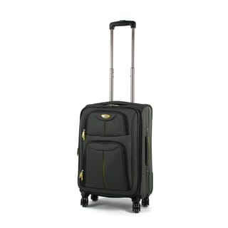 American Green Travel Trooper 20-inch Carry On Spinner Suitcase