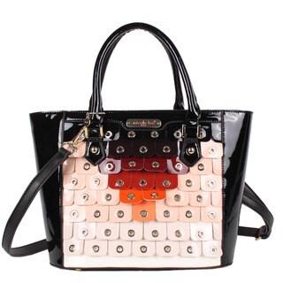 Nicole Lee Laquinta Ombre Scale Multi-Colored Tote Bag