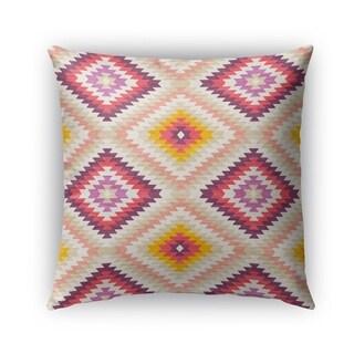 Kavka Designs beige; pink; ivory; purple dakha beige outdoor pillow with insert