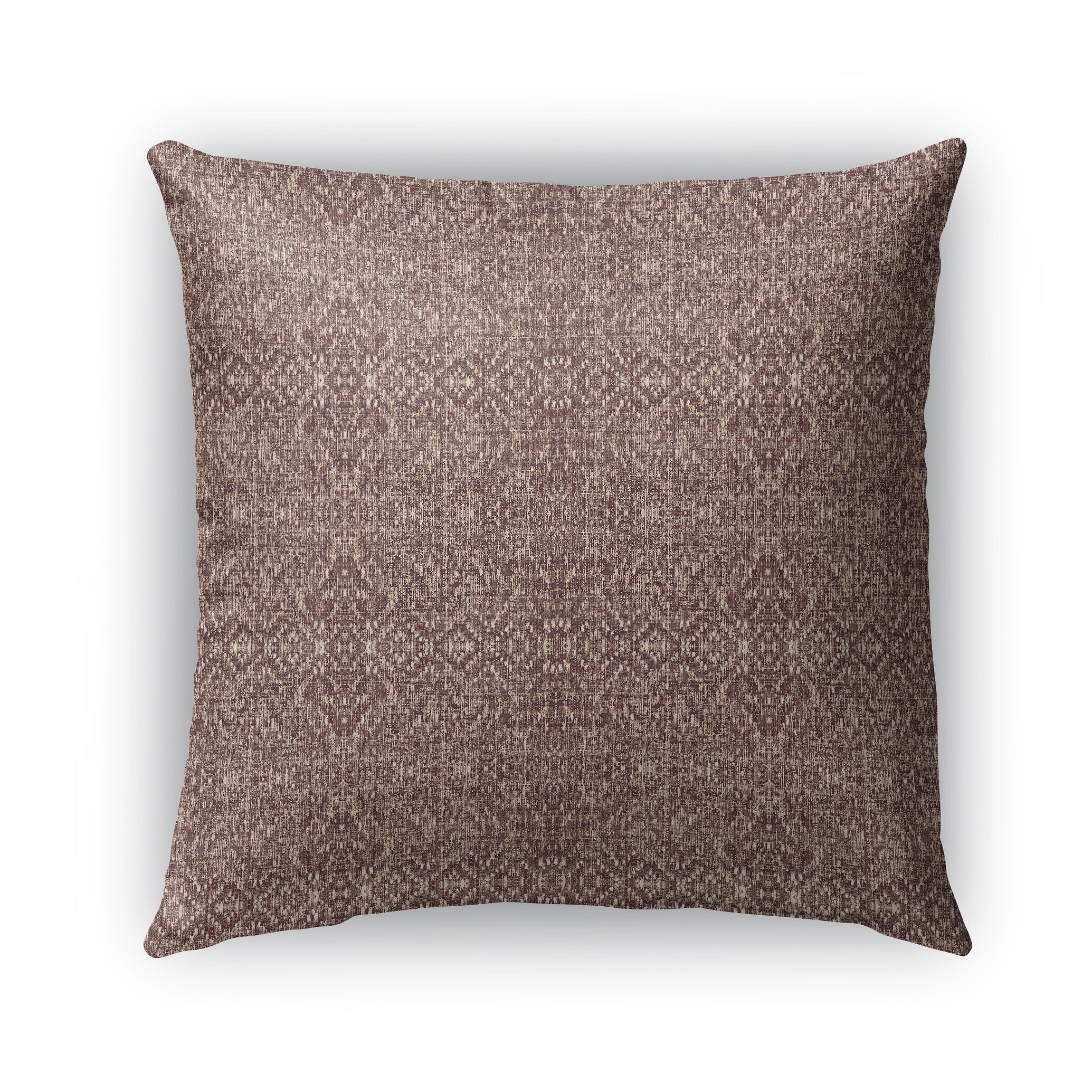 Kavka Designs brown reflect outdoor pillow with insert (18 x 18)