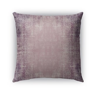 Kavka Designs purple purple distressed outdoor pillow with insert