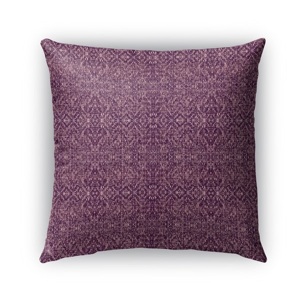 Shop Kavka Designs Purple Reflect Outdoor Pillow With