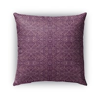 Kavka Designs purple reflect outdoor pillow with insert