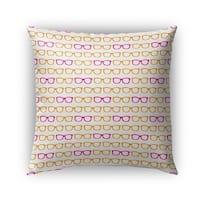 Kavka Designs pink; orange sunshine outdoor pillow with insert