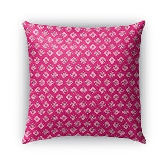 Kavka Designs pink boomboom outdoor pillow By Kavka Designs