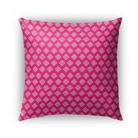 Kavka Designs pink boomboom outdoor pillow by terri ellis with insert
