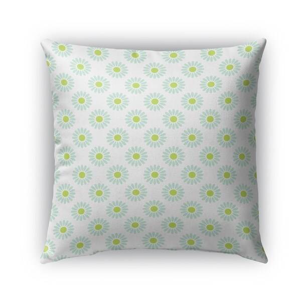 Shop Kavka Designs Green Blue Izzy Outdoor Pillow With Insert