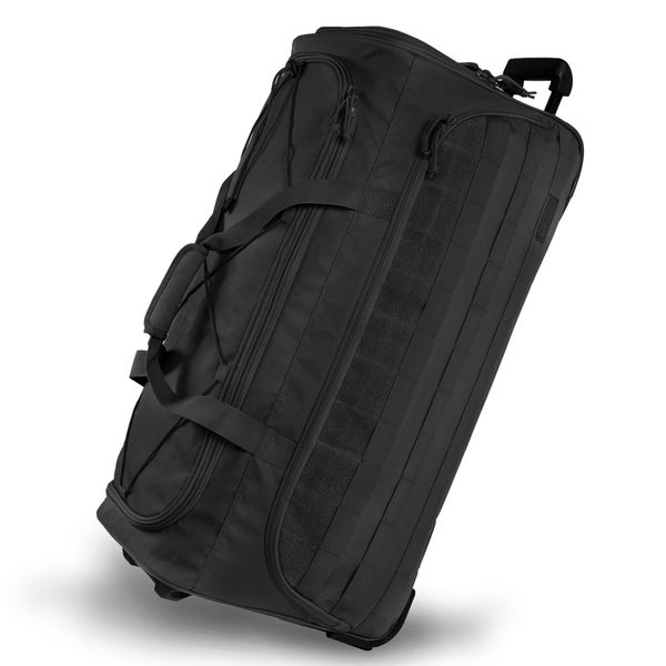 Highland Tactical Squad 30 Inch Large Rolling Duffel Bag