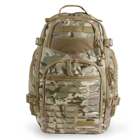 Highland Tactical Roger Tactical Backpack with Laser Cut MOLLE Webbing