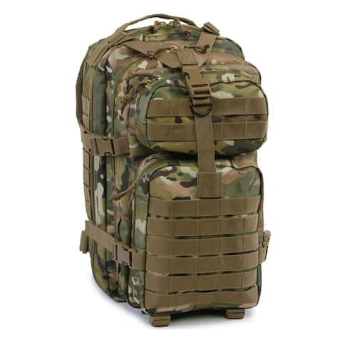 Highland Tactical Vantage Tactical Backpack with All-Around Compression Straps