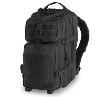 Highland Tactical Vantage Tactical Backpack with All-Around Compression Straps (Option: Black)