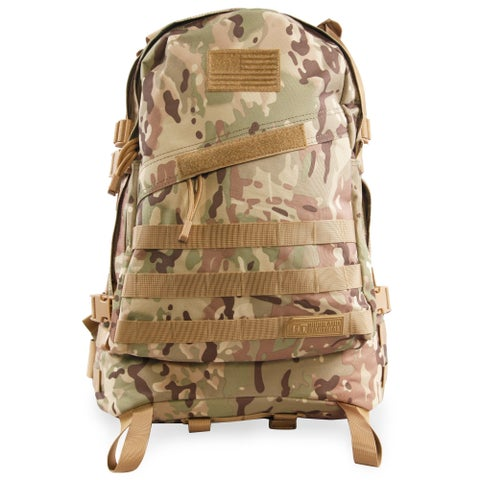 Highland Tactical Stealth Heavy Duty Large Tactical Backpack