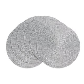 Silver Braided Placemat ( Set of 6)/Charger