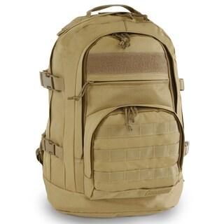 Highland Tactical Basecamp Heavy Duty Tactical Backpack (Option: Beige)
