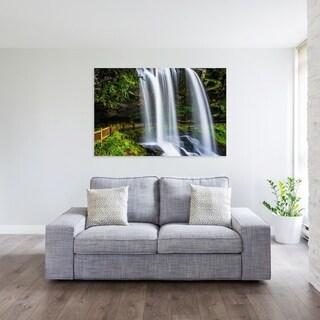 Noir Gallery Dry Falls in Highlands, North Carolina Fine Art Photo Print